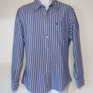 American Eagle Outfitters blue long sleeve shirt L